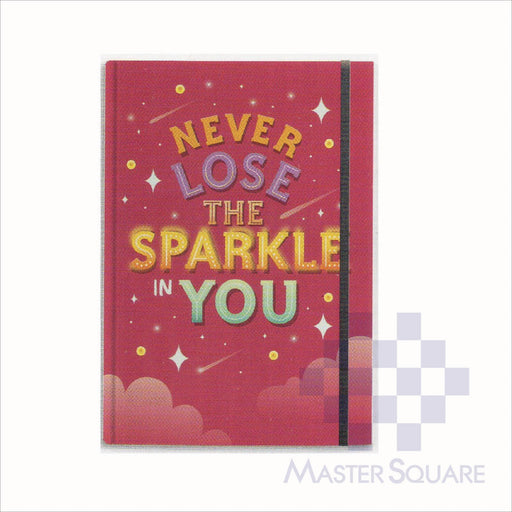 Spring Leaf Hardbound Bookbind Notebook 148 X 210 Mm 120lvs Make A Statement Design 6-Master Square