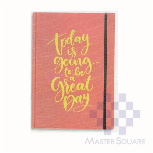 Spring Leaf Hardbound Bookbind Notebook 148 X 210 Mm 120lvs Handbook Design 7-Master Square