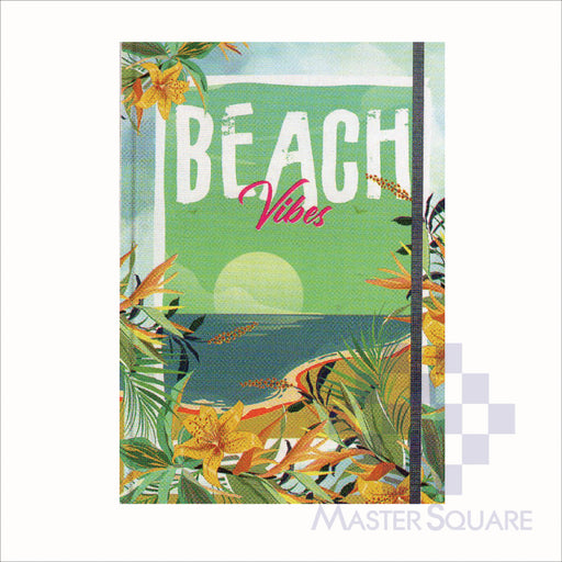 Spring Leaf Hardbound Bookbind Notebook 148 X 210 Mm 120lvs Summer Lovin Design 7-Master Square