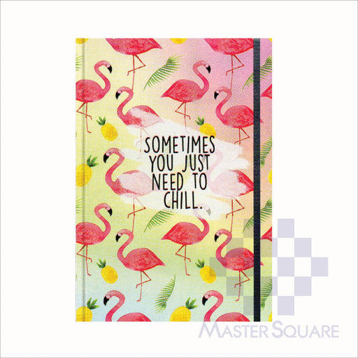 Spring Leaf Hardbound Bookbind Notebook 148 X 210 Mm 120lvs Summer Lovin Design 8-Master Square