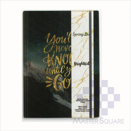 Spring Leaf Hardbound Bookbind Notebook 148 X 210 Mm 120lvs Bright Side Design 2-Master Square