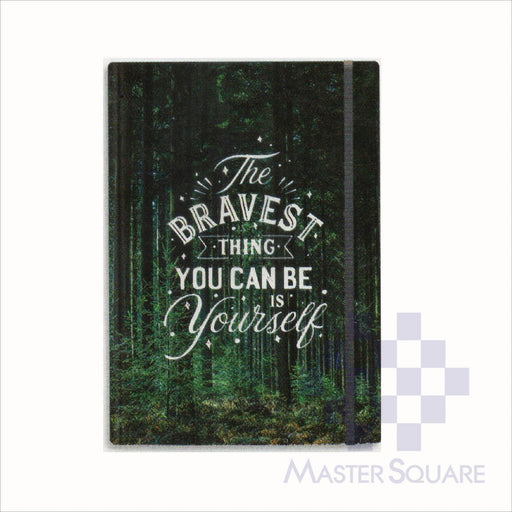 Spring Leaf Hardbound Bookbind Notebook 148 X 210 Mm 120lvs Bright Side Design 5-Master Square