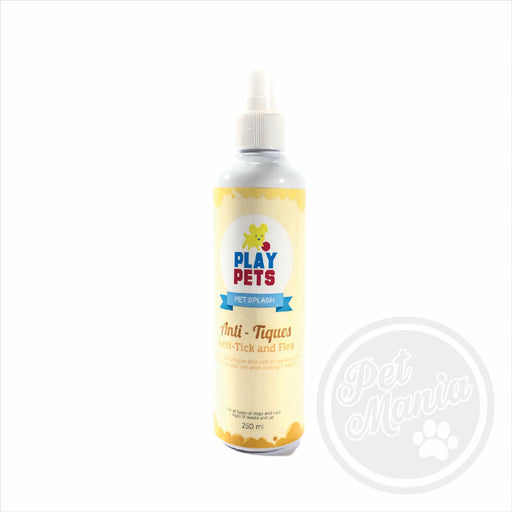 Play Pets Cologne 250ml Anti-tick & Flea-Master Square