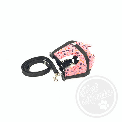 Cotton Harness #3 W/ Leash-Master Square