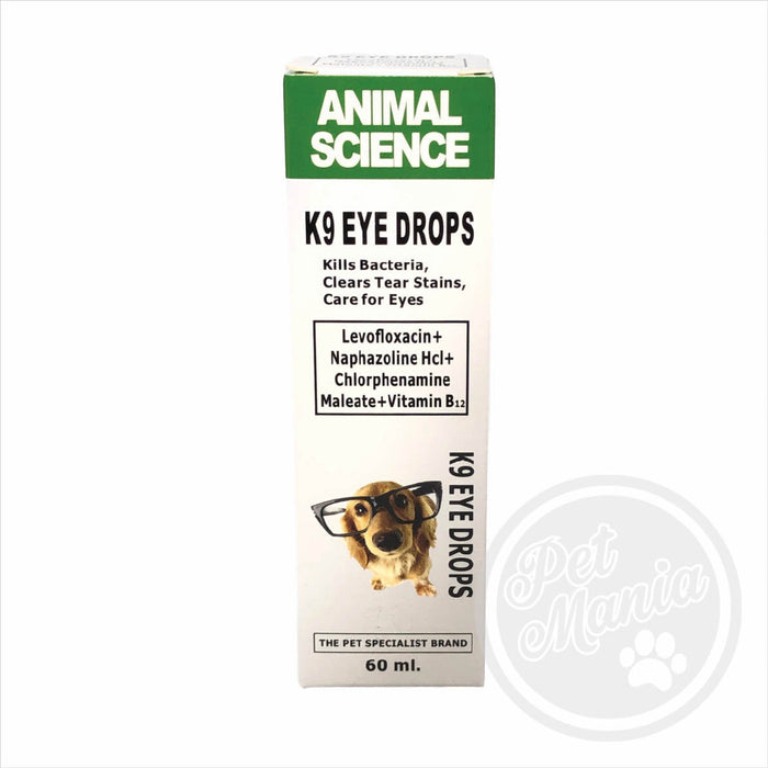 Animal Sciences K9 Eye Drops 60ml-Master Square