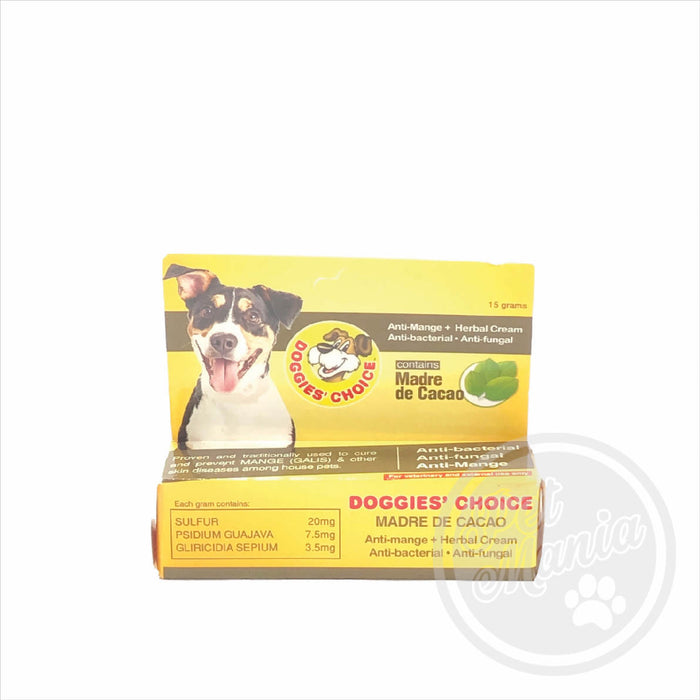 Doggies Choice Madre De Cacao Cream 15g Anti- Mange; Fungal; Bacterial-Master Square