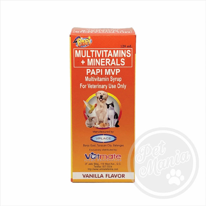 Papi Multi- Vit 120ml Vitamins-Master Square