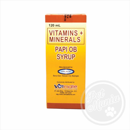 Papi Ob 120ml Vitamins-Master Square