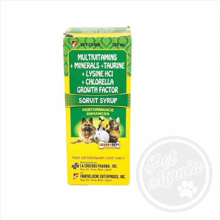Sorvit Syrup 120ml Vitamins-Master Square