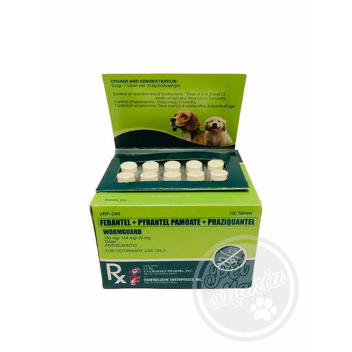 Wormguard 1 Tab Dewormer Dogs-Master Square