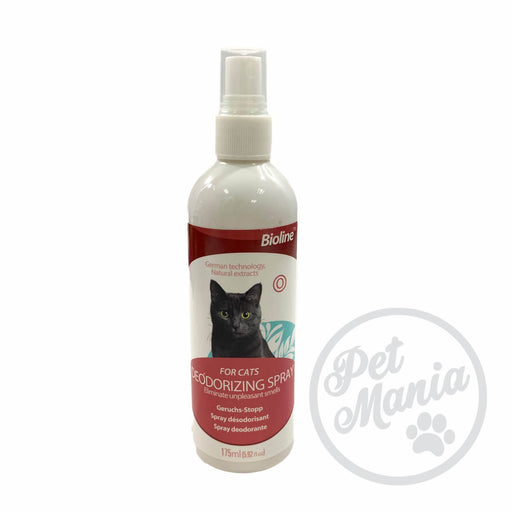 Bionline Deodorizing Spray For Cats 175ml-Master Square