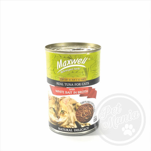 Maxwell Cat White Bait In Broth 400g-Master Square