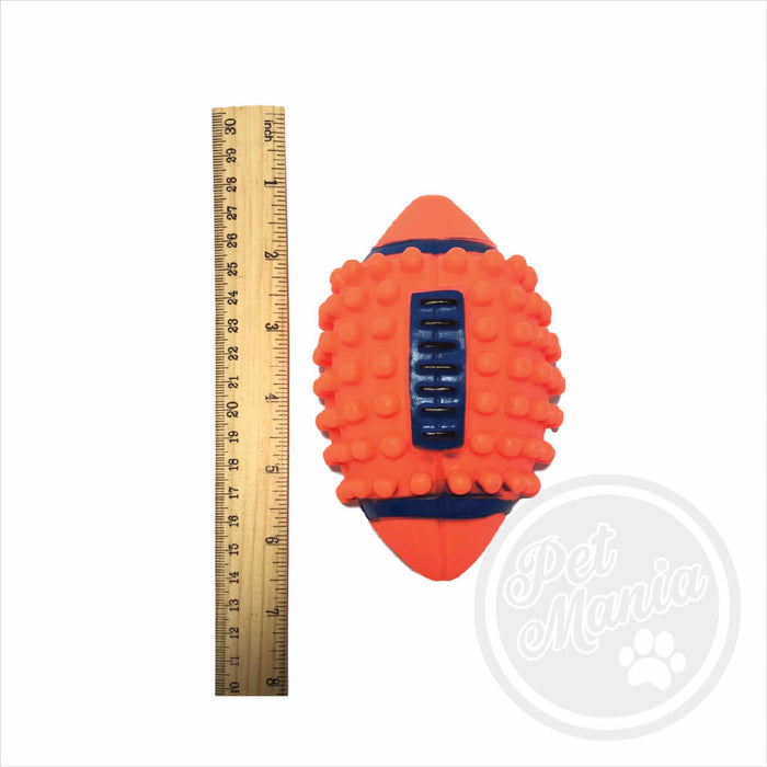 Toy Squeaky Football Spike-Master Square