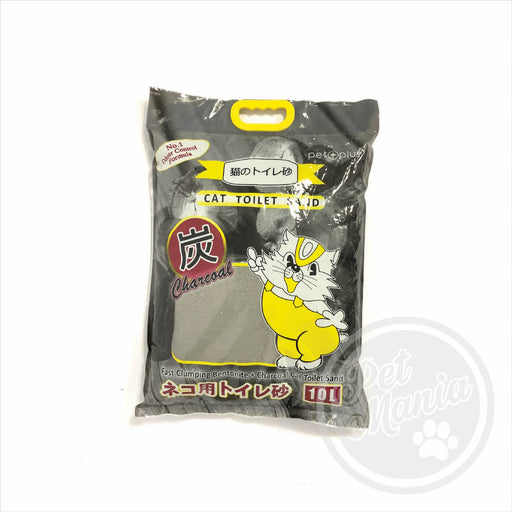 Cat Litter Charcoal 10l-Master Square