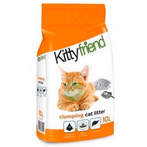 Kitty Friend Clumping Litter 10l Lavender Cat Litter-Master Square