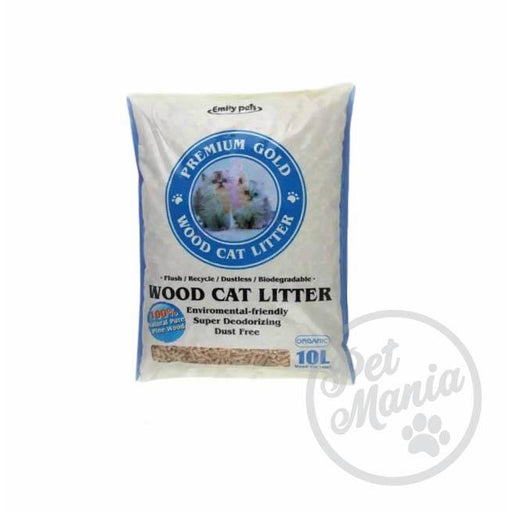 Emily Pets Wood Cat Litter 10l-Master Square