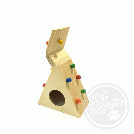 Hamster Wooden Rock Climbing House-Master Square