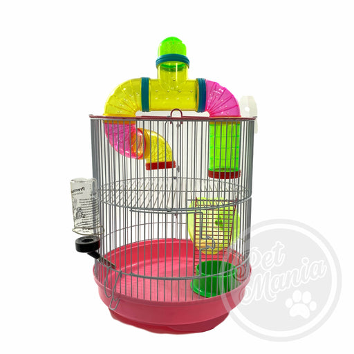 Hamster Cage With Connecting Tube B300-Master Square