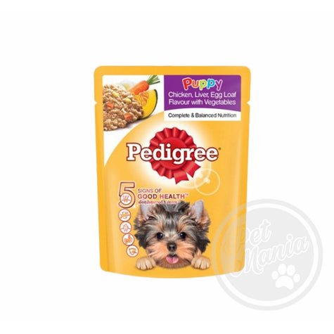 Pedigree Puppy Chicken Liver 80g-Master Square