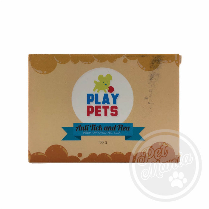 Play Pets Soap Anti-tick & Flea 135g-Master Square