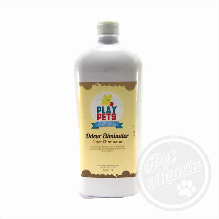 Play Pets 1l Odor Eliminator Shampoo-Master Square