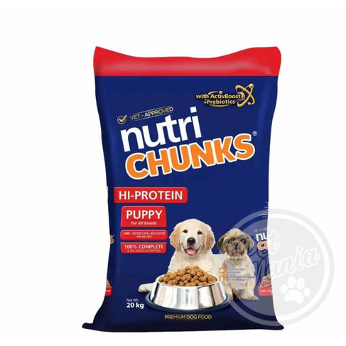 Nutri Chunks Puppy Lamb, Chicken liver & Milk-Master Square