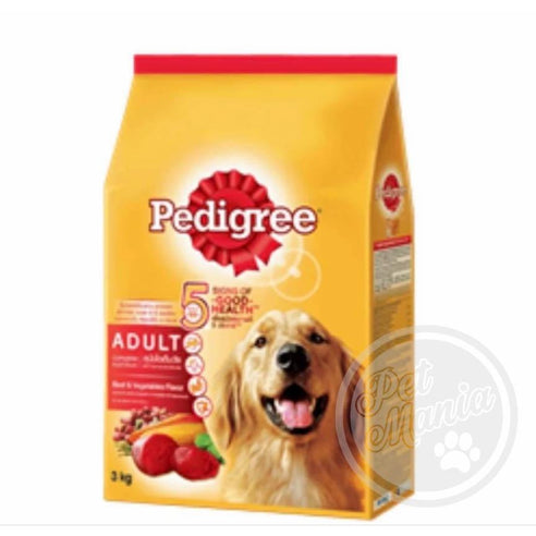 Pedigree Adult Beef & Vegetable-Master Square