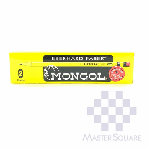 Mongol Pencil No.2 Box Of 12-Master Square