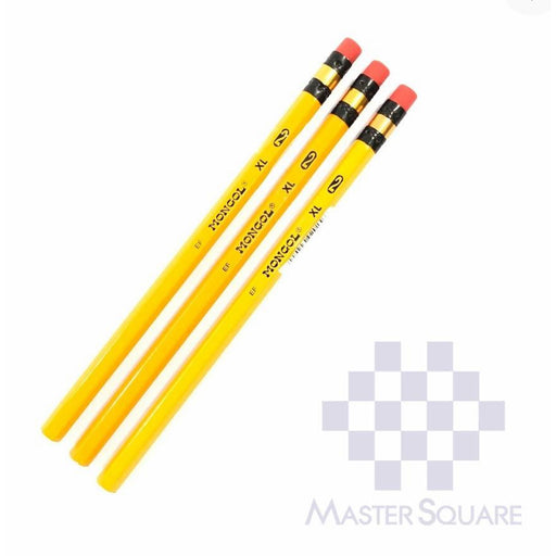 Mongol Pencil Xl No.2 Set Of 3-Master Square