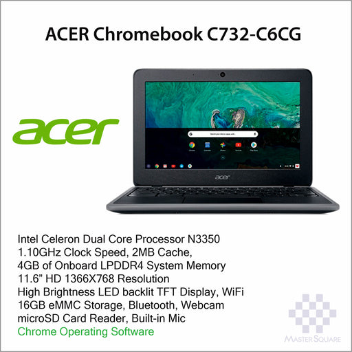 Laptop Acer Chromebook C732-C6CG-Master Square