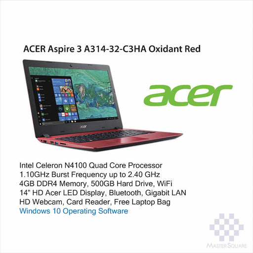 Laptop Acer Aspire 3 A314-32-C3HA-Master Square