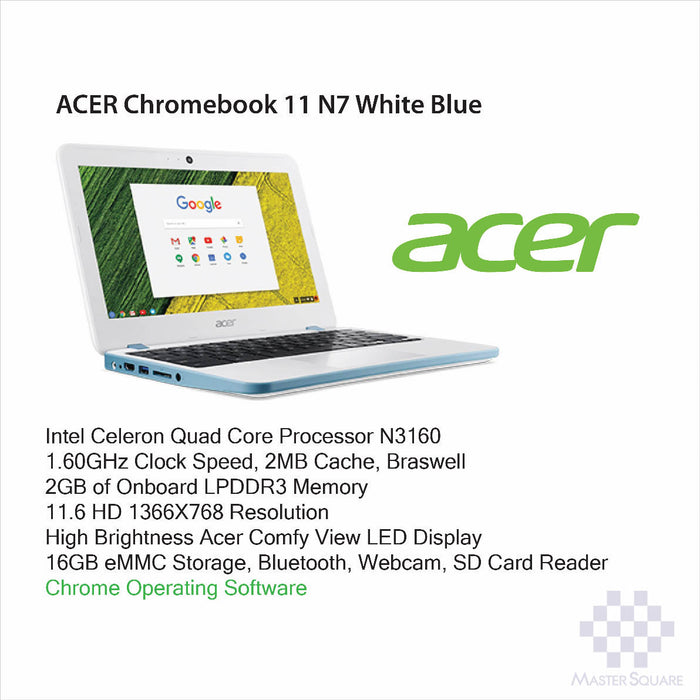 Laptop Acer Chromebook 11 N7-Master Square