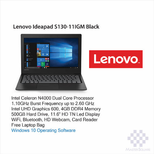 Laptop Lenovo Ideapad S130-11IGM-Master Square