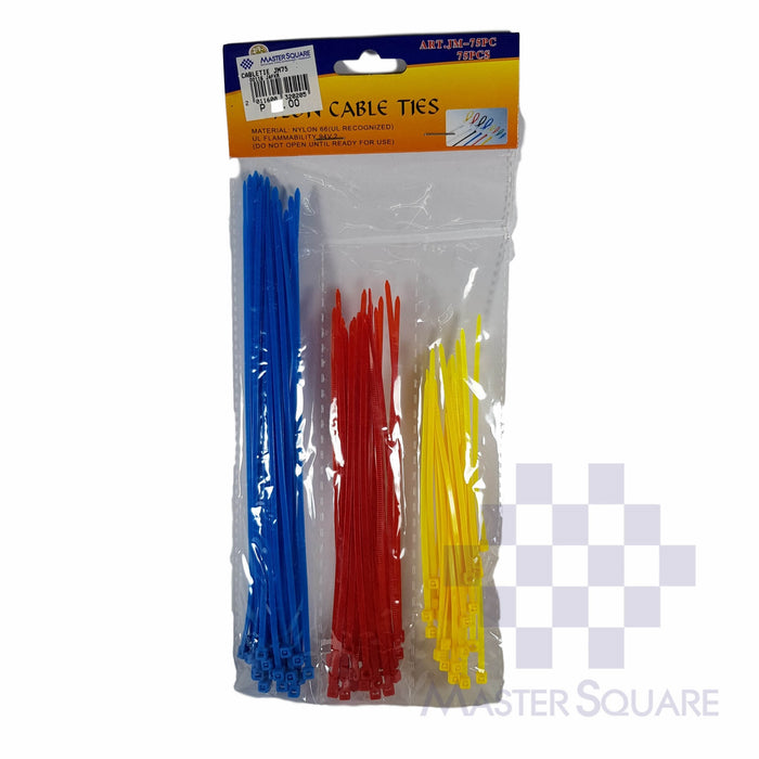 CABLE TIE MULTI COLOR JM75-Master Square