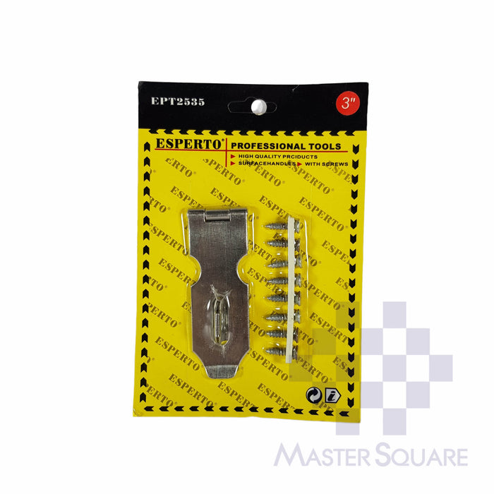 "SAFETY HASP 3""-Master Square"