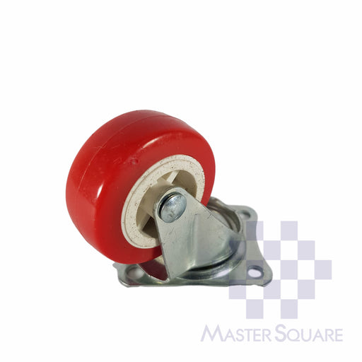 "Caster Wheel Red 2""-Master Square"