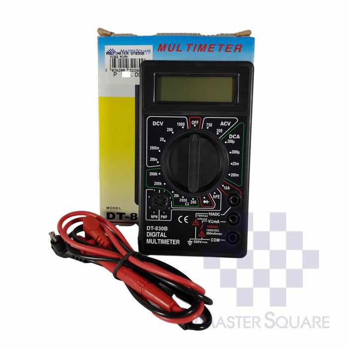DIGITAL MULTIMETER DT830B-Master Square