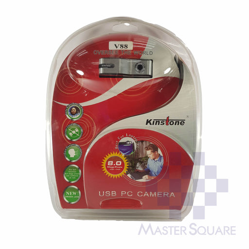 Pc Webcam Kinstone V88-Master Square