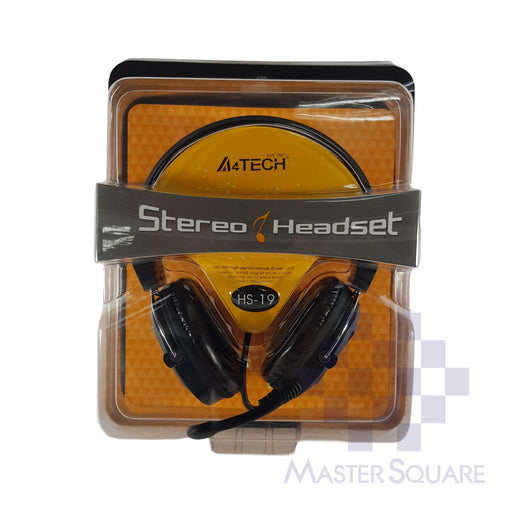 Headset W/ Mic A4tech Hs-19-Master Square