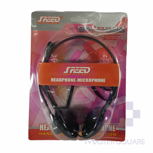 Headset W/ Mic Speed-Master Square