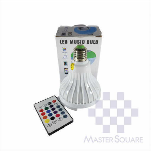 LED Bulb with BT Speaker-Master Square