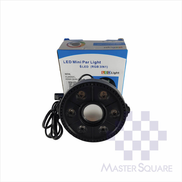 LED Mini PAR Light (BT Speaker)-Master Square