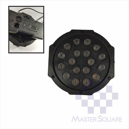 PAR Light 18 Bulb-Master Square