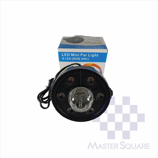 LED Mini PAR Light (Disco)-Master Square