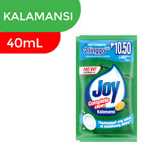 Joy Dish Washing Liq Kalamansi 40ml-Master Square