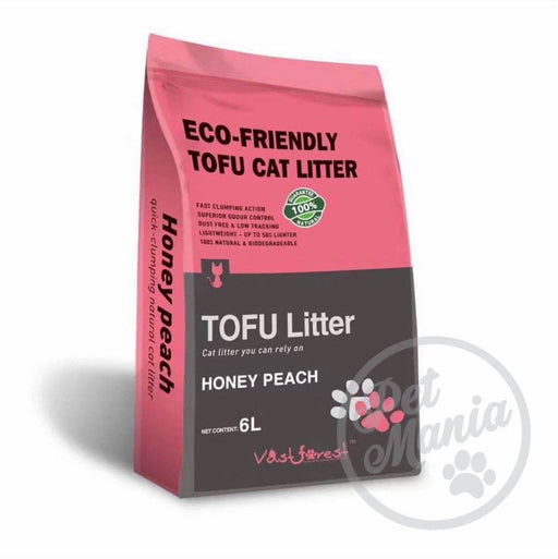 Vast Forrest Tofu Cat Litter 6L Honey Peach-Master Square