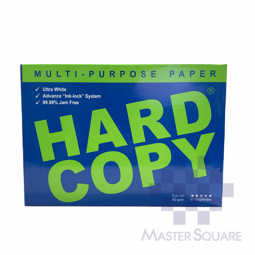 Hard Copy A4 Bond Paper Sub. 24 (Max of 2reams/brand per delivery. Please choose another brand if you wish to add more reams to your order)-Master Square