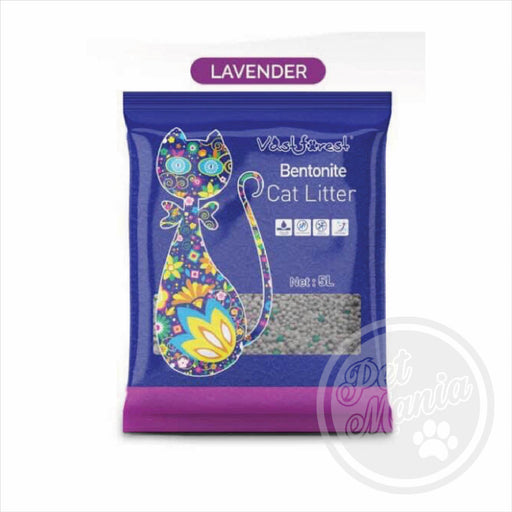 Cat Litter 5L Vast Forest Lavender-Master Square