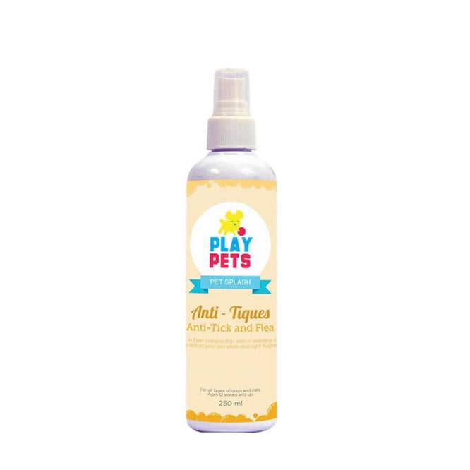 Play Pets Splash Anti Tick & Flea 250ml-Master Square