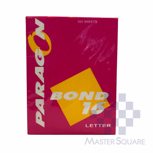 Paragon Bond 8.5 X 11 Sub 16 (Max of 2reams/brand per delivery. Please choose another brand if you wish to add more reams to your order)-Master Square
